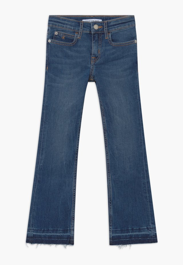 FLARE STRETCH - Bootcut jeans - blue