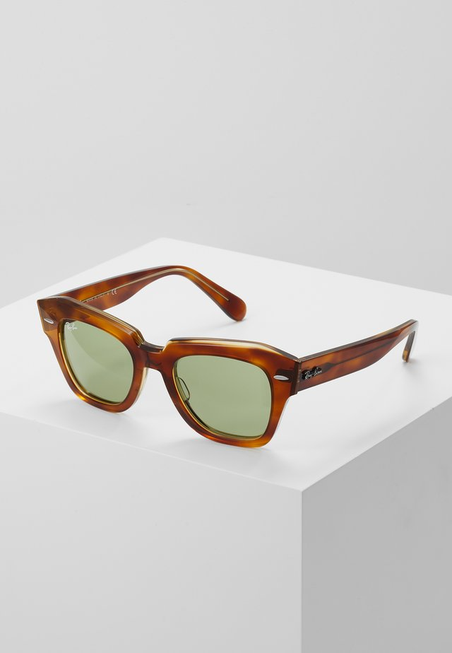 STATE STREET - Sunglasses - transparent/green