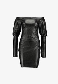 Nly by Nelly - VOLUME SLEEVE DRESS - Pouzdrové šaty - black - 5
