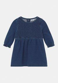 Name it - NBFATORINAS  - Day dress - dark blue denim - 0