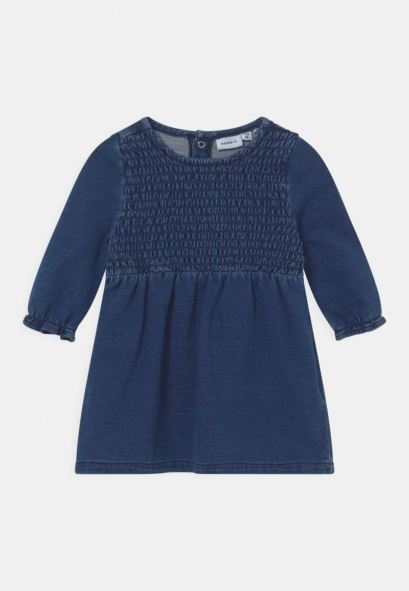 Name it - NBFATORINAS  - Day dress - dark blue denim