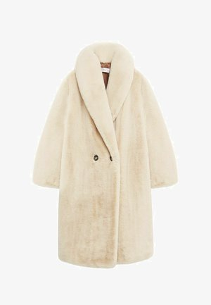 CHILLY - Classic coat - ecru