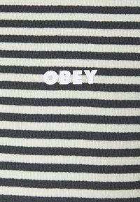 Obey Clothing - IDEALS STRIPE TEE - Print T-shirt - aqua /multi - 2