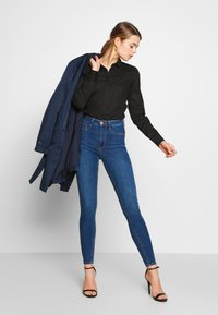 Gina Tricot - HIGHWAIST - Jeans Skinny Fit - dark blue - 1