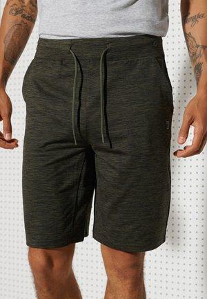 HEATHER  - Shorts - army khaki heather