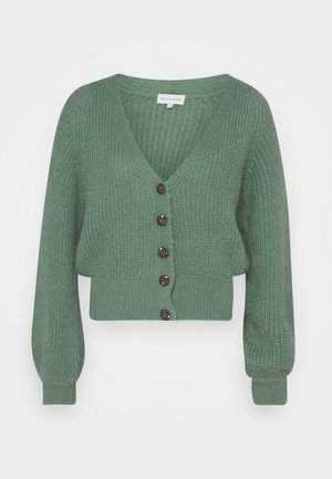 STARRY CARDIGAN - Gilet - garden green