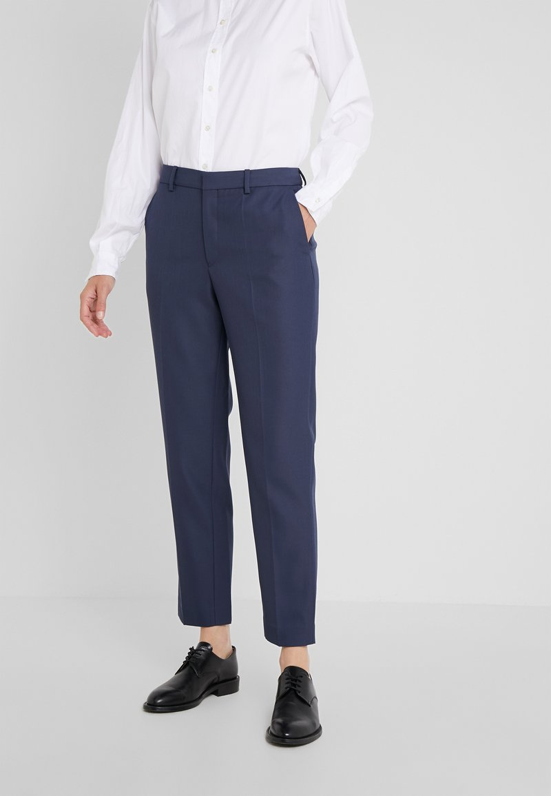 Filippa K - EMMA SUITING TROUSER - Trousers - indigo