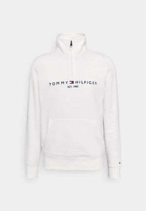 LOGO MOCKNECK - Sweatshirt - white