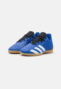 adidas Performance - PREDATOR FREAK 4 IN SALA UNISEX - Indoor football boots - royal blue/footwear white/core black - 1