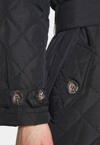 Freequent - URBAN - Classic coat - black - 4