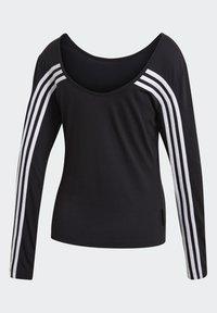 adidas Performance - PRIMEBLUE LONG-SLEEVE TOP - Long sleeved top - black - 8
