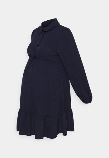OLMLIA SHORT DRESS - Skjortekjole - evening blue