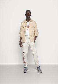 adidas Originals - SCRIPT PANT - Pantaloni sportivi - alumina - 1
