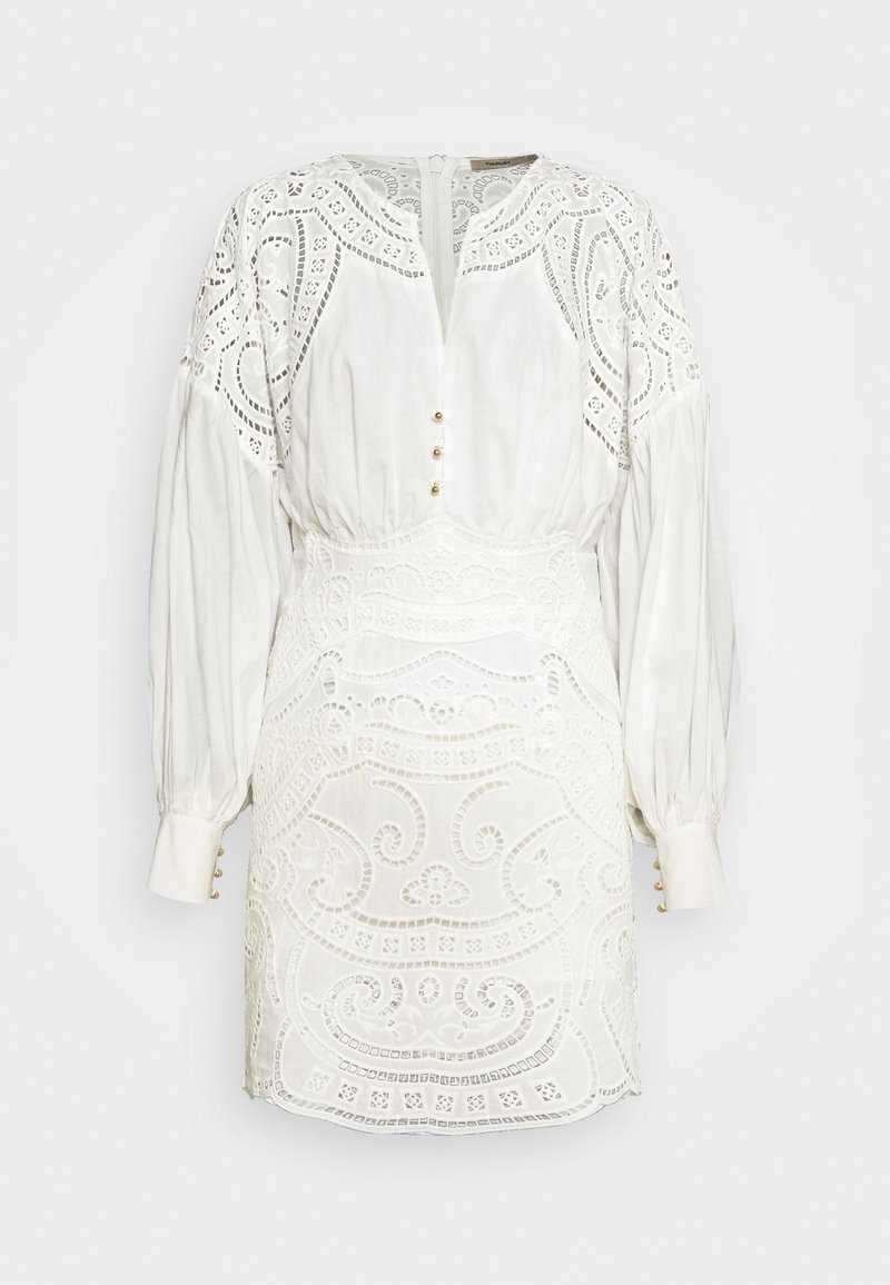 Thurley - RIPPLE MINI DRESS - Denní šaty - off white