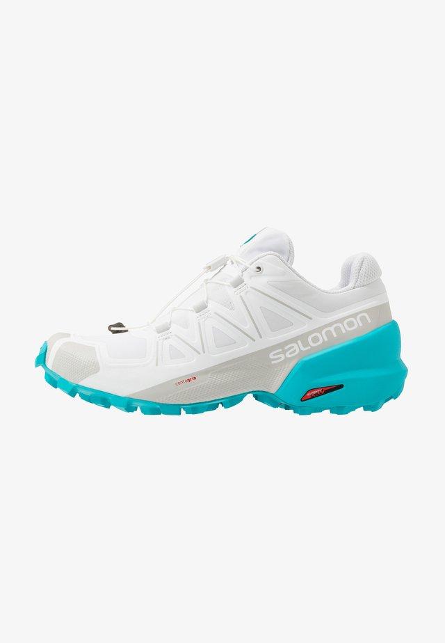 SPEEDCROSS 5 - Trail running shoes - white/bluebird