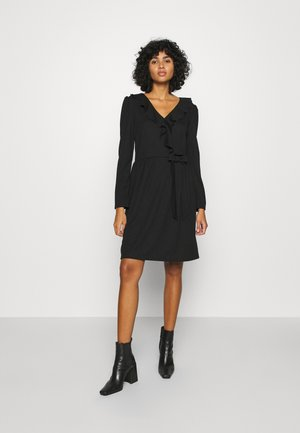 LADIES DRESS - Jersey dress - black