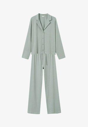 SET - Pyjama - pastelgroen