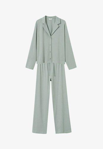 SET - Pyjama set - pastelgroen