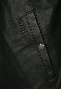 Schott - Leather jacket - dark brown - 5