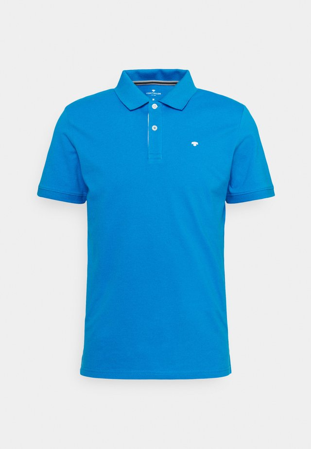 BASIC WITH CONTRAST - Polo - bright ibiza blue