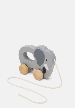 NACHZIEH ELEFANT UNISEX - Wooden toy - multicolor