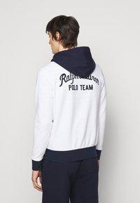 Polo Ralph Lauren - Zip-up hoodie - white/multi - 2