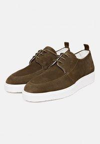 Melik Shoes - Sneakers laag - groen - 1