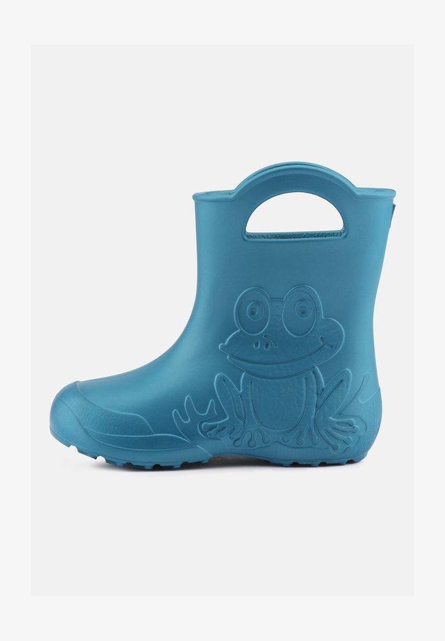 Botas de agua - metallic blue