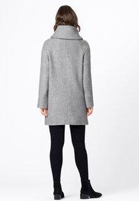 HALLHUBER - Classic coat - hell silber-melange - 1