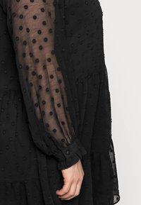 Pieces Curve - PCNUTSI DRESS - Cocktail dress / Party dress - black - 4