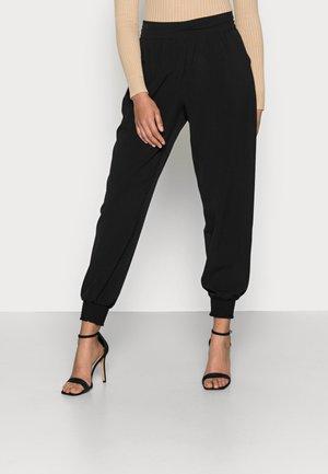 CHARLOTT HAREM PANT - Trousers - pitch black