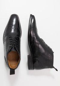 Melvin & Hamilton - FREDDY - Elegantní šněrovací boty - remo black - 1