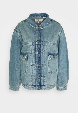 LMC TYPE II LL TRUCKER - Denim jacket - light blue