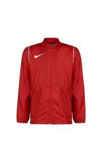 Nike Performance - PARK 20 REPEL REGENJACKE KINDER - Training jacket - university red / white - 0