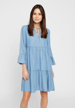 STUFEN - Korte jurk - light blue denim