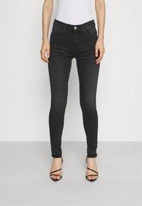 Tommy Jeans - NORA SKINNY - Jeans Skinny Fit - ceasar black - 0