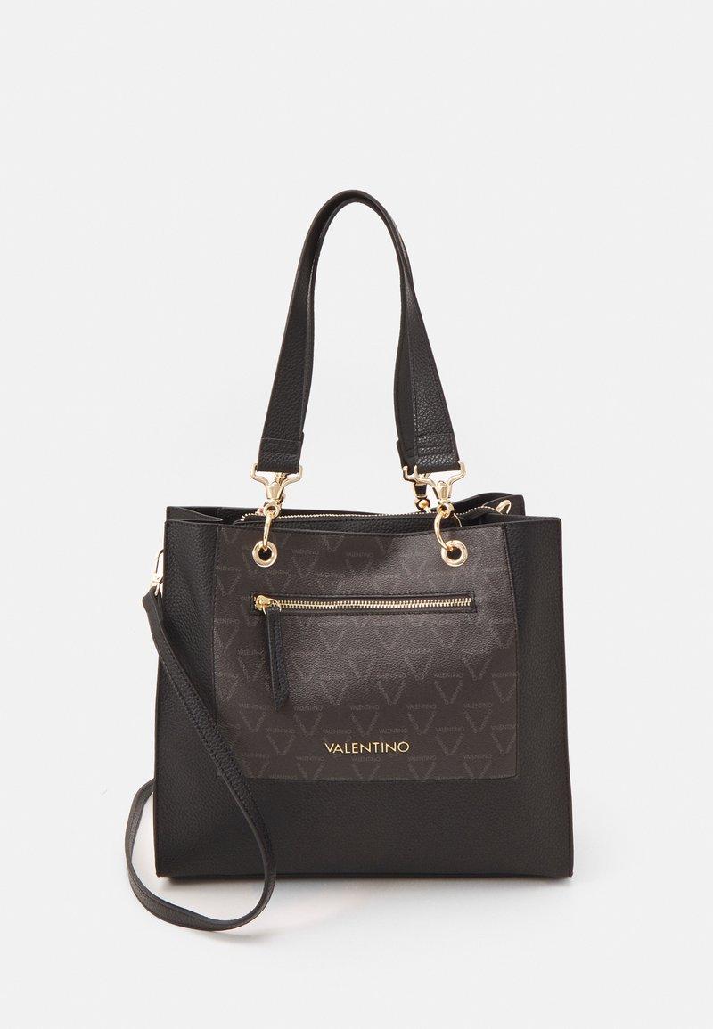 Valentino Bags - PATCH - Tote bag - nero