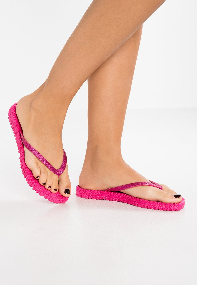 Ilse Jacobsen - CHEERFUL - Pool shoes - warm pink