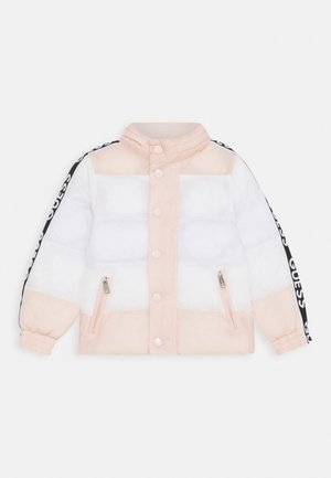 PADDED JACKET BABY UNISEX - Winter jacket - pink/white