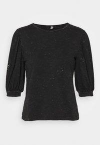 ONLY - ONLLUCILLA LIFE MIX PUFF - Print T-shirt - black - 4