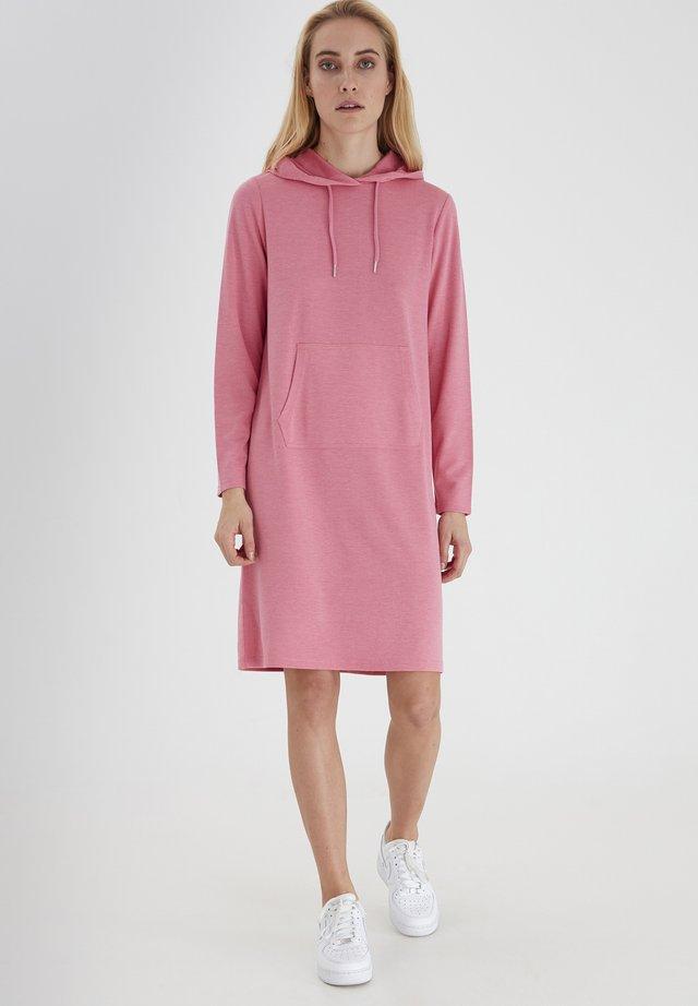 Sukienka z dżerseju - chateau rose melange