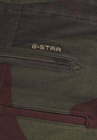 G-Star - VETAR  - Shorts - olive/brown/beige - 5