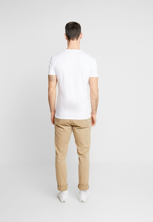 Antony Morato T-shirt z nadrukiem - white/biały Odzież Męska DPME
