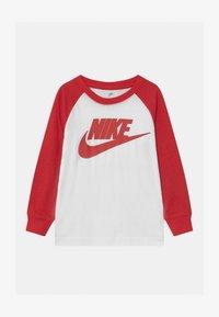 Nike Sportswear - SAFARI FUTURA RAGLAN - Camiseta de manga larga - white - 0