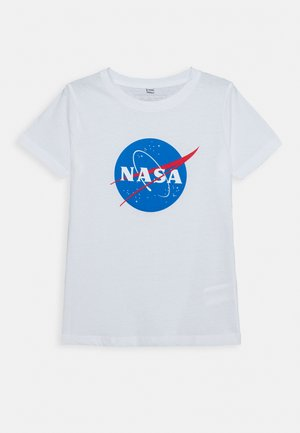 KIDS NASA INSIGNIA TEE - T-shirt print - white
