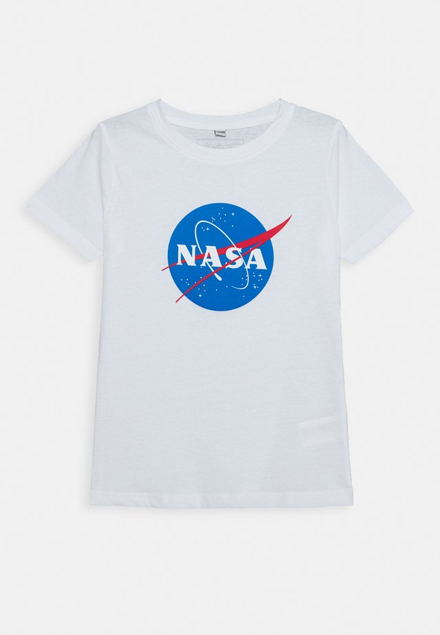 KIDS NASA INSIGNIA TEE - Camiseta estampada - white