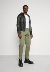 Strellson - FANE - Leather jacket - black - 1