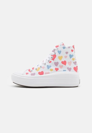 CHUCK TAYLOR ALL STAR MOVE HEARTS UNISEX - Sneakers hoog - white/pink salt