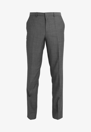 HESTEN - Suit trousers - charcoal