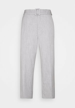 KATORIA PANTS - Trousers - grey melange